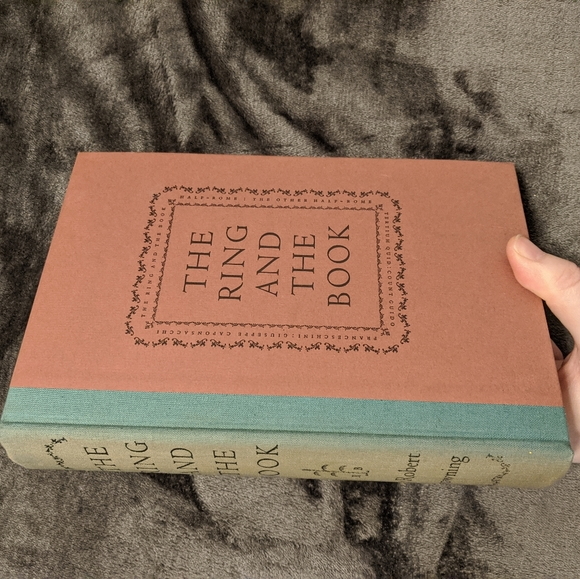 Vintage Other - Robert Browning 1949 The Ring and the Book boxed